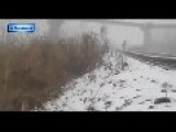 Putin's Terrorists Blow Up A Road Bridge: Lugansk Jan 16th '15