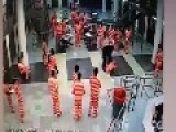 Police Officer Kills Inmate Breaks His Neck