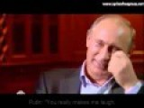 Putin Laughs In Face Of A Journalist ENG Subtitle About The Anti Missile System