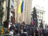 Pro-Russian Activists Storm Kharkiv, Ukraine Government Building