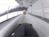 POV - Bobsled Run - Lake Placid, N.Y
