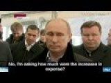 Putin Grills Incompetent Project Management In Public