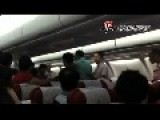 Passengers Fight Over Vacant Seat On Board Aircraft