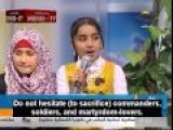 Palestinian Children On Childrens Show Singing About A Suicide Bomber