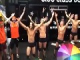 Police Dance YMCA At Gay Pride