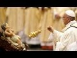 Pope Francis Gives Christmas Eve Mass At The Vatican