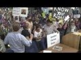 Protesters Takeover Albuquerque City Council Meeting