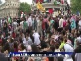 Peacefull Pro-Palestinian Rally @ Paris 07 26 2014