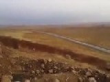 Peshmerga Footage Of A VBIED Attack Which Killed Several Of Their Fighters Near The Mosul Dam