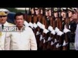 Philippines President Tours Russia Warship