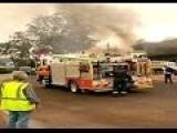Pickup Truck Slams Into Queensland Cafe Sparking Massive Explosion