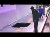 Pedestrians Disappear After Walking Over Sinkhole