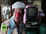 Peru: Meet The World's Oldest CLOWN - 92-yo Ricardo Farfan