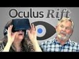 Parents Experience 3D VR Headset