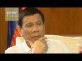 Philippines President Says He Is Chinese And Believe In Sincerity