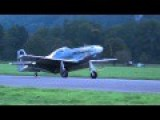 P-51 Mustang Warbird Ride In Switzerland