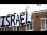 Pro-Palestine Protest On The Roof Of Shenstone Factory