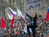 Pro-Russian Protesters Gather In Donetsk, Ukraine