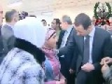 President Assad Visit The Educational Center Of Arts