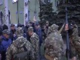 Pro-Russian Gunmen Seize Police Station In Eastern Ukraine