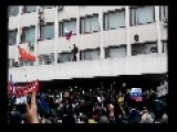 Pro Russian'n Protesters Have Seized The Government Building And Raised The Russian Flag In Mariupol - Ukraine
