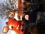Parade Balloon Deflates In Front Of Crowd