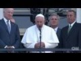 Pope Speaks In Washington - Translation
