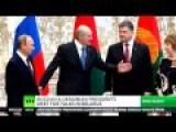 Putin And Poroshenko Meet To Ease Russian Ukrainian
