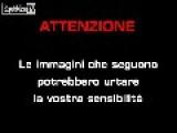 Pusher's Car Crash During Police Chase In Milan