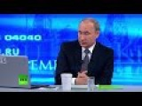 Putin Annual Q&A Session 2015 FULL VIDEO