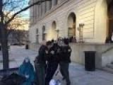 Police Arrest A Zombie