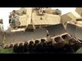 Powerful M1 Abrams Tank: Assault Breacher Vehicles In Action
