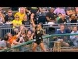 Pirates Ball Girl Knows How To Catch Balls Bare Handed