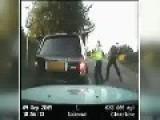 Policeman Caught On Film Smashing Up OAP's Car