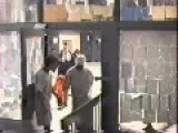 Prisoner Breaching Doors In An Attempt To Make Their Way To Control Room