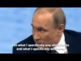 Putin Says Accepts U S Is Sole Superpower, Dilutes Trump Praise