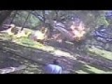 Plane Crashes Into Trees And Catches Fire In Alabama - Caught On Security Camera