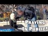 Praying In Public With A Mat And Hijab