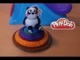 Play-Doh Rainbow Cake With Sweet Panda