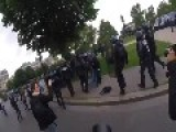 Paris Police, Protesters Clash