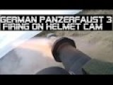 Powerfull German Army Bundeswehr Soldier Panzerfaust 3 Live Fire On Helmet Cam