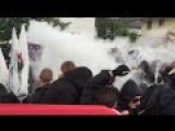 Police, Protesters Clash Outside G7 Summit