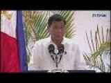 Philippine President Says God Has Told Him To Stop Swearing!