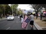Protesters Tried To Desecrate The Flag - Marines Charged In To Take It Back