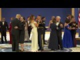 President Trump Dancing With First Lady Melania
