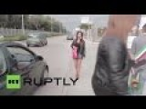 Politicians Dressed As Hookers In Italy Fool Motorists On Road