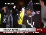 Protesters Chanting 'No Justice, No Peace' In Ferguson, USA