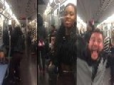 Poor Man Harassed And Assaulted By Uptown Thugs On N.Y. Subway For Wearing Clothes Out Of Style