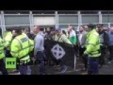 People Fight Each Other On White Pride Day In UK