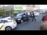 Police Dealing With A Fighter